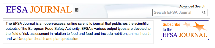 web efsa journal